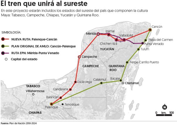 "Mexic ""Maya train"""