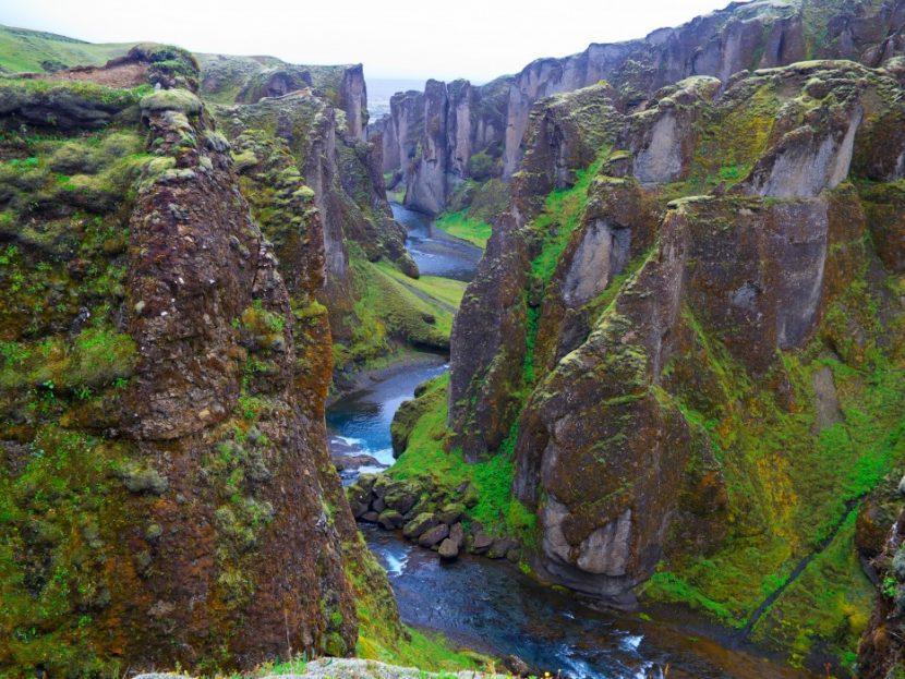 Islanda a închis unul dintre cele mai renumite canioane