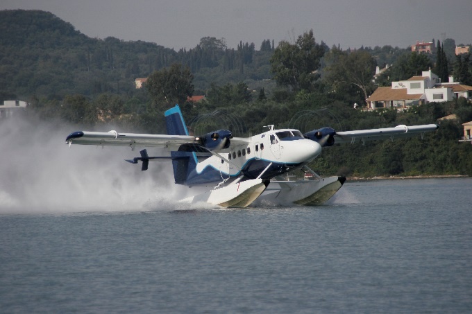 Grecia se pregătește să inaugureze prima rețea de transport cu hidroavioane