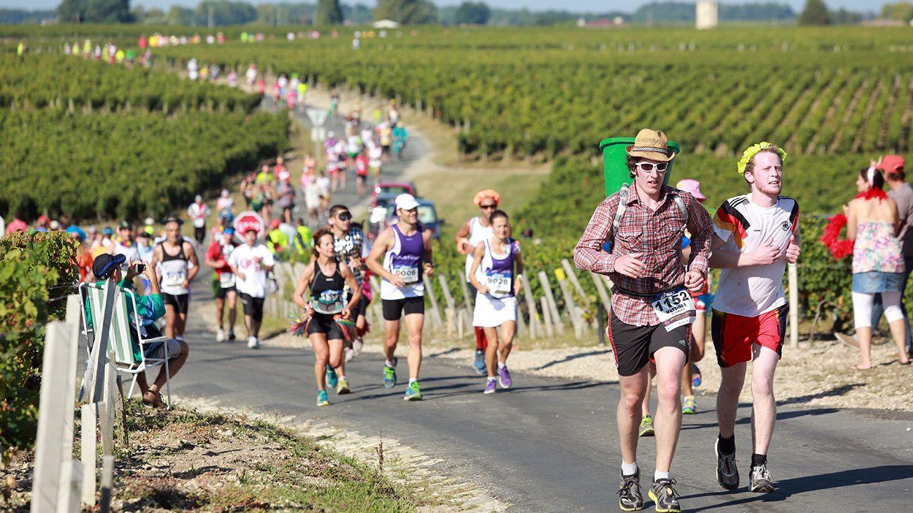 Maratonul vinului din Medoc
