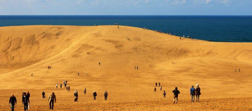 JAPONIA | Mesajele în nisip interzise la dunele din Tottori