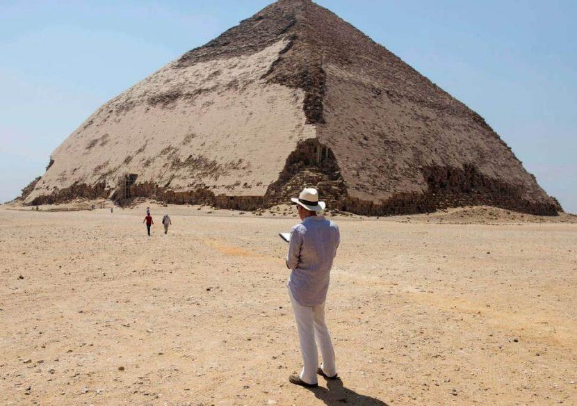 EGIPT | Curioasa piramidă Bent redeschisă publicului după 54 de ani