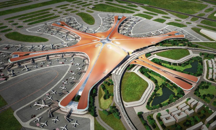 CHINA | Noul aeroport-mamut din Beijing, gata de inaugurare