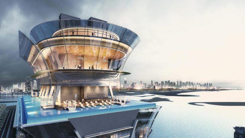 Dubai construiește una dintre cele mai înalte piscine infinite din lume