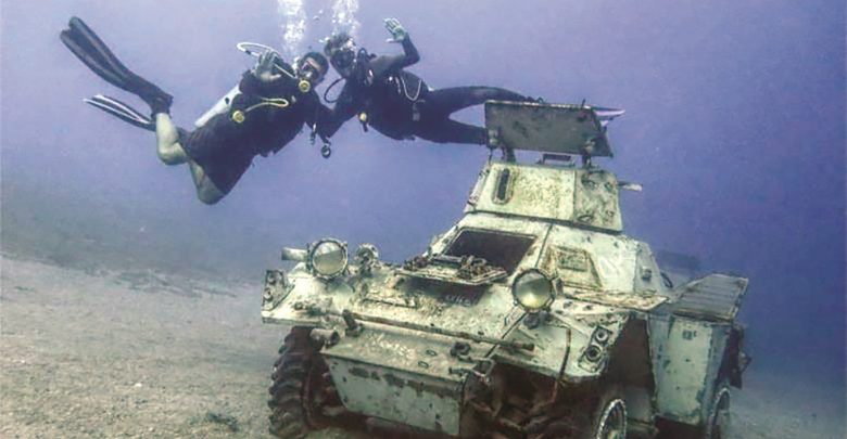 IORDANIA | Muzeul Militar Subacvatic, noua atracție din Golful Aqaba