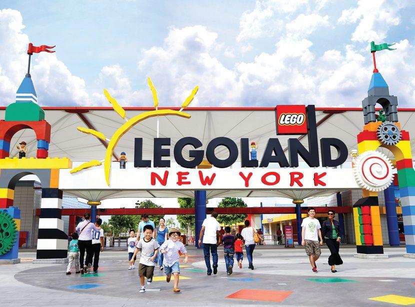 Cel mai mare parc Legoland va fi deschis în 2020, la New York, de Ziua Independenței
