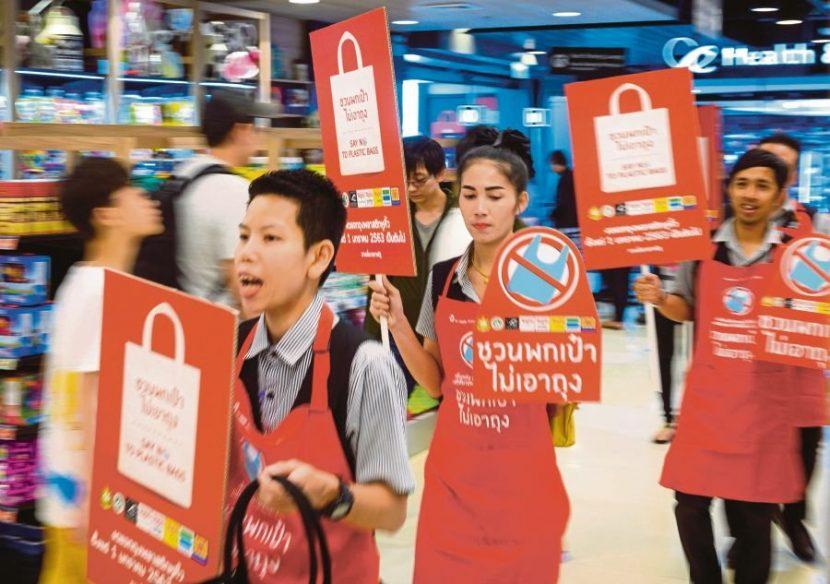 THAILANDA | Pungile din plastic de unică folosință, interzise în marile magazine.  Cum au reacționat oamenii?