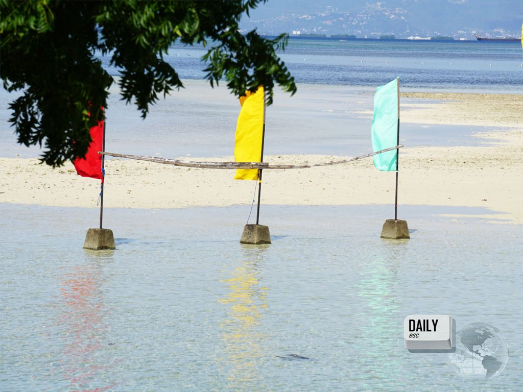 Nalusuan Island, Philippines (the sandbank at low tide)