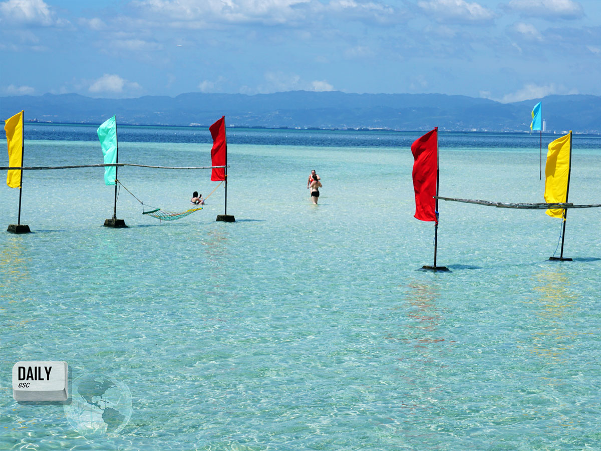 Nalusuan Island, Philippines (high tide)